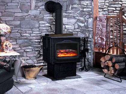 Harman TLC 2000 Wood and Coal Stove