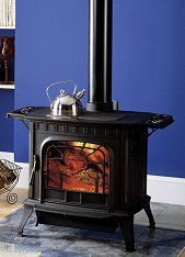 Harman Oakwood Cast Iron Wood Stove