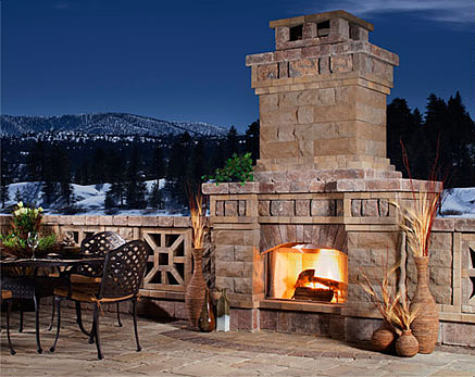 5 Amazing Outdoor Fireplace Designs - Vonderhaar on Amazing Outdoor Fireplaces id=90884